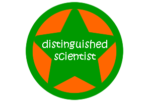 distinguished scientist badge