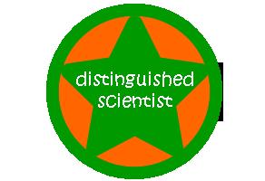 distinguished scientist badge