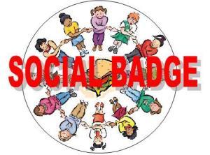 social badge