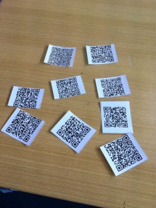 QR codes for rocks