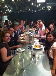 Teach Eat at the Oaks Hotel after Teach Meet