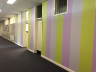 Dickson College - This gave me the idea to paint my classroom in columns of colours