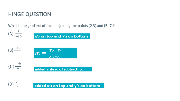 hinge question maths example